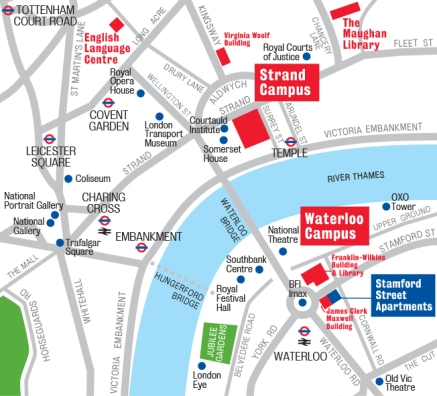 Strand Waterloo location 2014-07